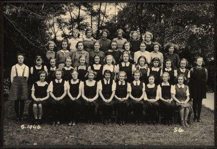 Terrace End School - Standard 6, 1940