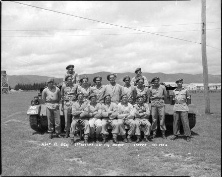 D Coy. 7th Intake C.D. Training Depot, Linton