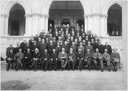 Hospital Conference delegates, General Assembly Library, Wellington