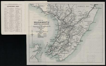 Bradbury's Illustrated Series No. XI. Manawatu and Rangitikei Districts 6