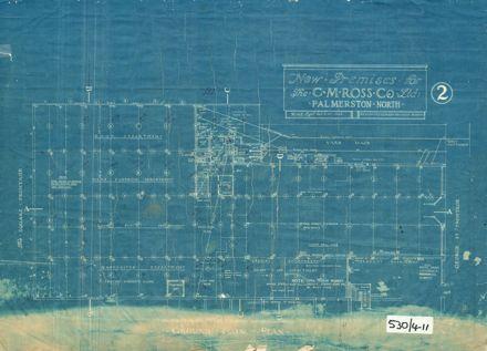 CM Ross Building, Ground Floor Plan, 1928