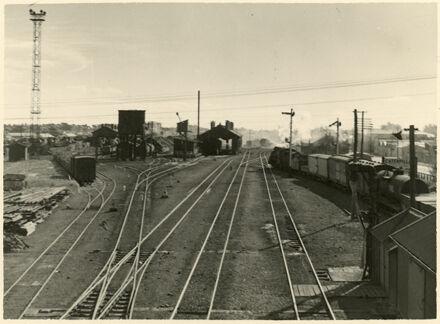 Shunting Yards, Palmerston North Railway Station, Main Street