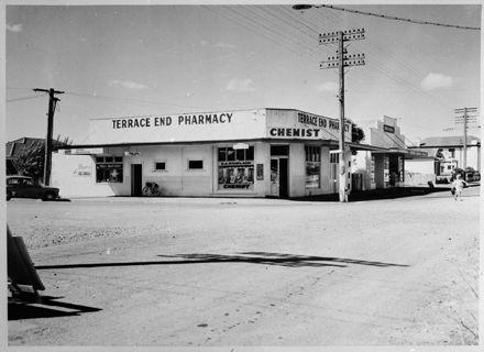 Terrace End Pharmacy, Corner of Ruahine and Main Streets