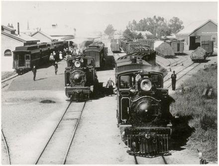 Palmerston North Railway Station and Yard, Main Street West