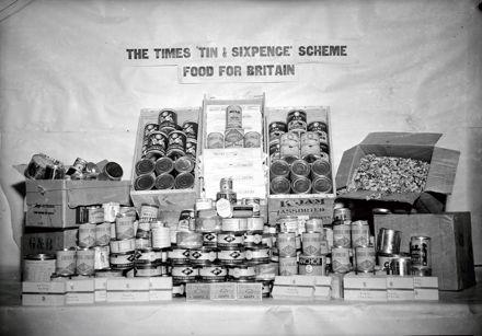 'Food For Britain' Display