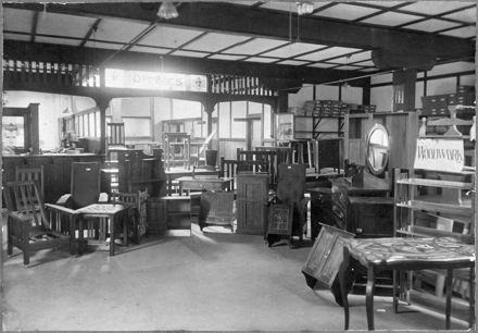 Palmerston North Technical School Woodworking Department Exhibition