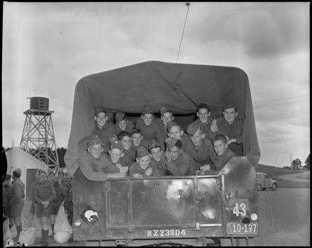 """Army Cadets At Linton Camp"""