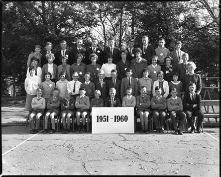Linton School Jubilee - 1951-1960 Group