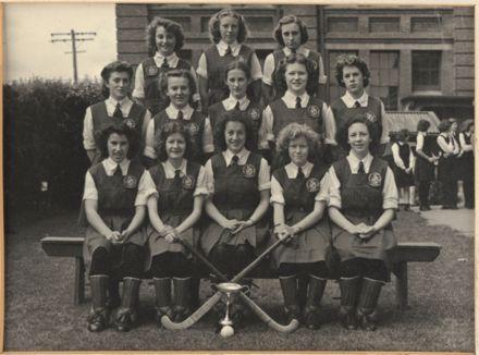 Palmerston North Technical School Girls Hockey, 1948
