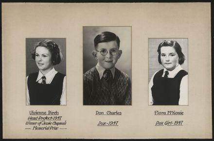 Terrace End School Student Leaders, 1947