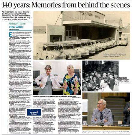 """Memory Lane - """"140 years: Memories from behind the scenes"""""""