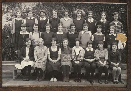 Terrace End School - Standard 6, 1933