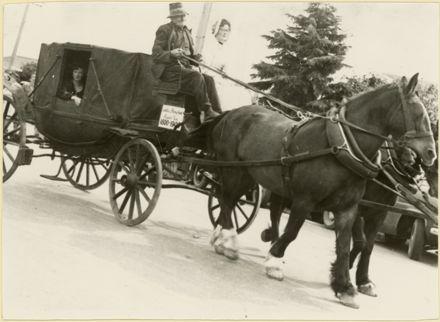 Transport parade, part of Palmeston North 75th Jubilee celebrations