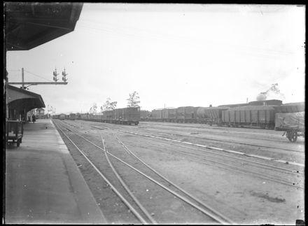 Railway Platform, Unidentified