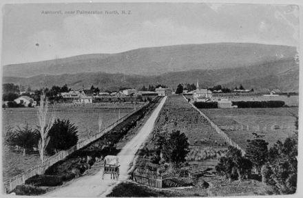 Postcard of Ashhurst