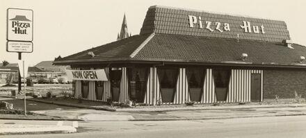 Pizza Hut, corner of Broadway Avenue and Albert Street