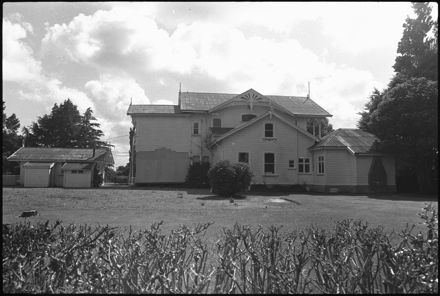 Caccia Birch House from the back, 130 Te Awe Awe Street