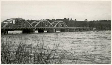 View of the Fitzherbert Bridge