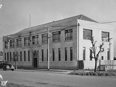 Public Works Department, Cook Street