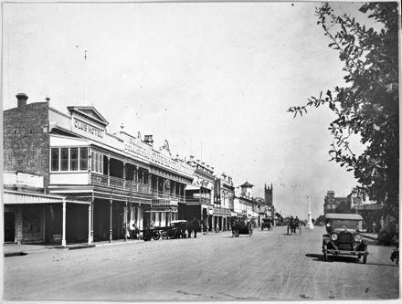 A View of Church Street from Fitzherbert Avenue