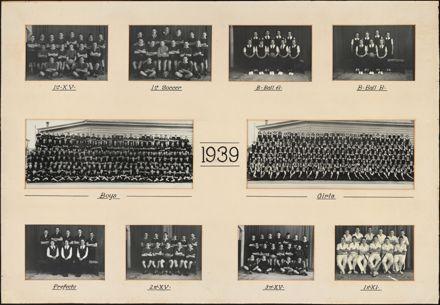 Palmerston North Technical School Photographs, 1939