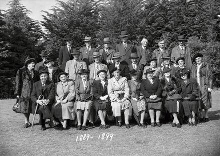 School Reunion, Class of 1889-1899