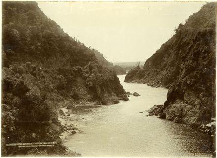 View of the Manawatu Gorge