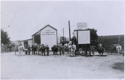 Butter factory, Bunnythorpe Dairy Co Ltd