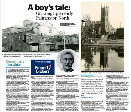 """Memory Lane - """"A boy's tale: Growing up in early Palmerston North"""""""