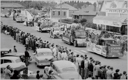 Centenary procession, Foxton