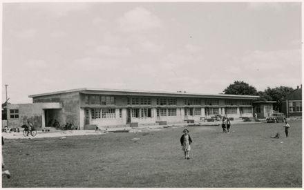 Construction of the Infant Block, Terrace End School