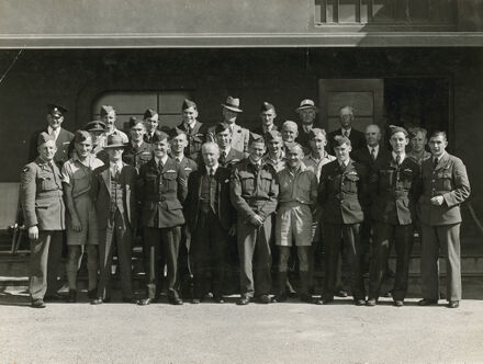 Australian Airforce NCO's visit Ohakea