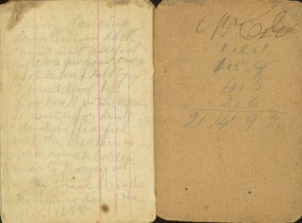 Shipboard diary p45