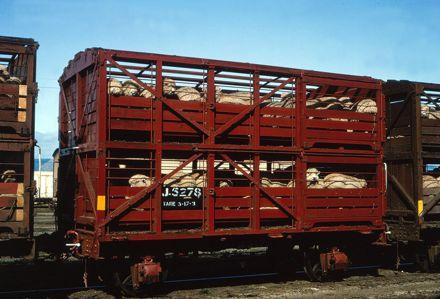J Class Double Deck Sheep Wagon