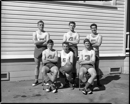 Basketball Team, Palmerston North Teachers' College