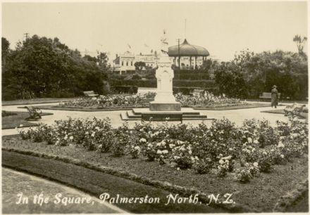 "Palmerston North Souvenir Photo Cards - ""In the Square"""