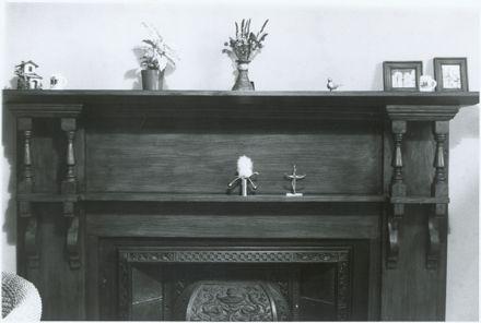 125 Fitzherbert Avenue, Fireplance in Room Adjoining Kitchen