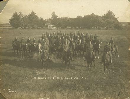 E Squadron 9th Mounted Rifles, Rangiotu