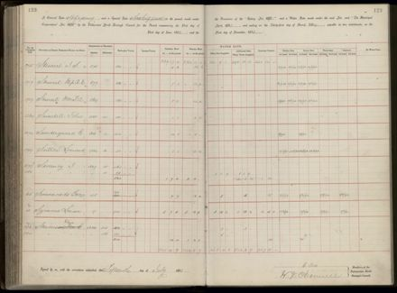 Palmerston North Rate Book, 1893 - 1896, 128