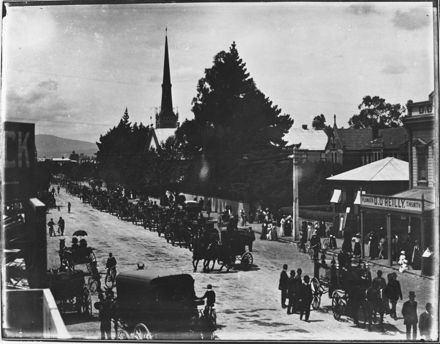 Funeral procession of Father Costello, Broad Street