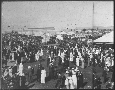 Panorama of the 1915 Agricultural and Pastoral Show