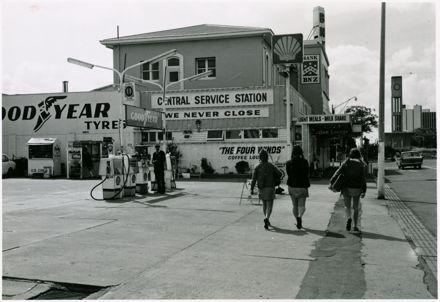 Central Service Station, Fitzherbert Avenue