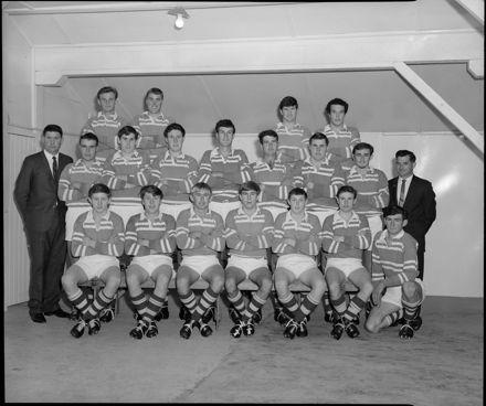 Manawatū Junior Rugby Team, 1968