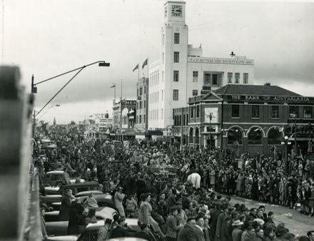 Victory Over Japan celebration parade, Broadway