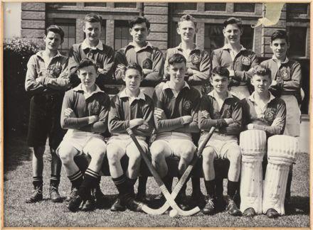 Palmerston North Technical School Boys Hockey, 1948
