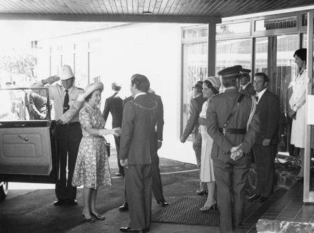 Queen Elizabeth II and Duke of Edinburgh visit to Palmerston North