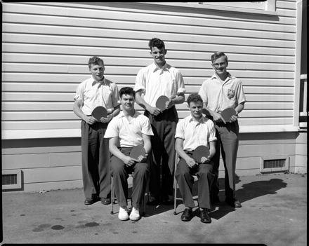 Table Tennis Team, Palmerston North Teachers' College