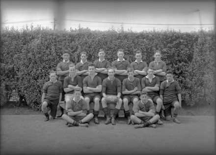 Palmerston North Technical High School - First XV Rugby Team