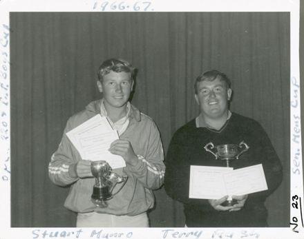 West End Amateur Swimming Champions - Stuart Munro / Terry Rush