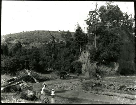 River scene with Children